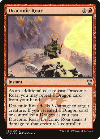 Draconic Roar [Dragons of Tarkir] | Eastridge Sports Cards & Games