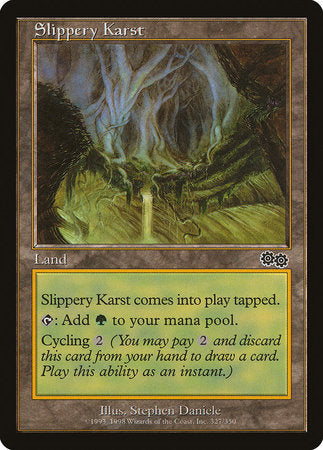 Slippery Karst [Urza's Saga] | Eastridge Sports Cards & Games