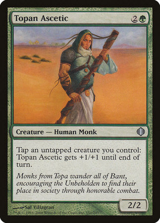 Topan Ascetic [Shards of Alara] | Eastridge Sports Cards & Games