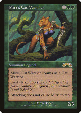 Mirri, Cat Warrior [Exodus] | Eastridge Sports Cards & Games
