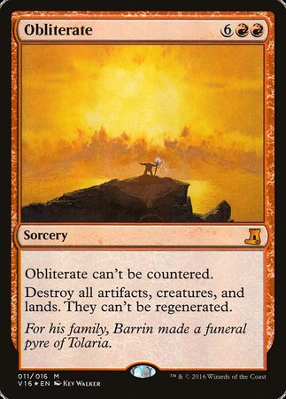 Obliterate [From the Vault: Lore] | Eastridge Sports Cards & Games