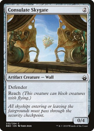 Consulate Skygate [Battlebond] | Eastridge Sports Cards & Games