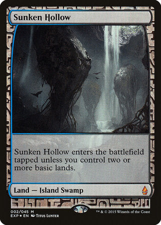 Sunken Hollow [Zendikar Expeditions] | Eastridge Sports Cards & Games