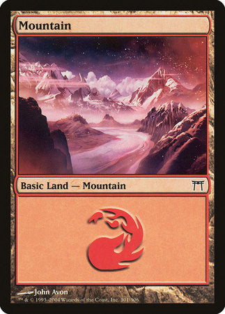 Mountain (301) [Champions of Kamigawa] | Eastridge Sports Cards & Games