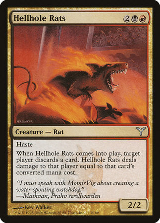 Hellhole Rats [Dissension] | Eastridge Sports Cards & Games