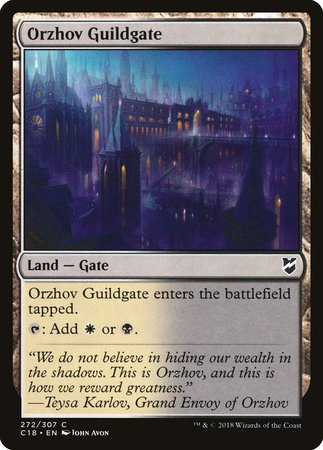 Orzhov Guildgate [Commander 2018] | Eastridge Sports Cards & Games