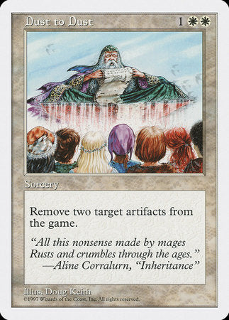 Dust to Dust [Fifth Edition] | Eastridge Sports Cards & Games