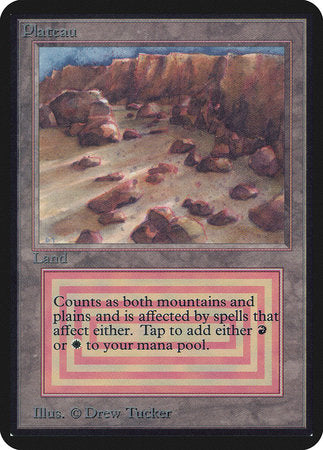 Plateau [Limited Edition Alpha] | Eastridge Sports Cards & Games