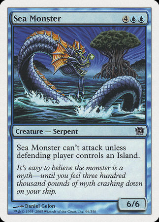 Sea Monster [Ninth Edition] | Eastridge Sports Cards & Games