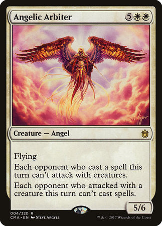 Angelic Arbiter [Commander Anthology] | Eastridge Sports Cards & Games