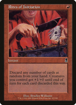 Rites of Initiation [Odyssey] | Eastridge Sports Cards & Games