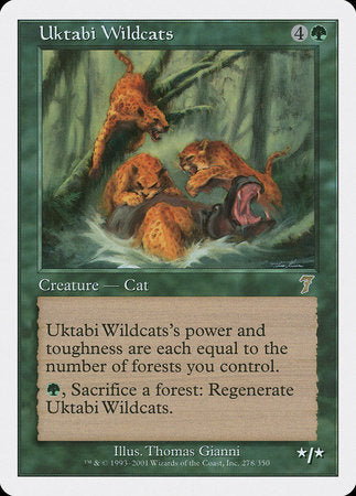 Uktabi Wildcats [Seventh Edition] | Eastridge Sports Cards & Games