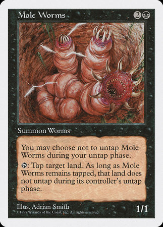 Mole Worms [Fifth Edition] | Eastridge Sports Cards & Games