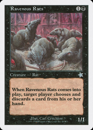 Ravenous Rats [Starter 1999] | Eastridge Sports Cards & Games