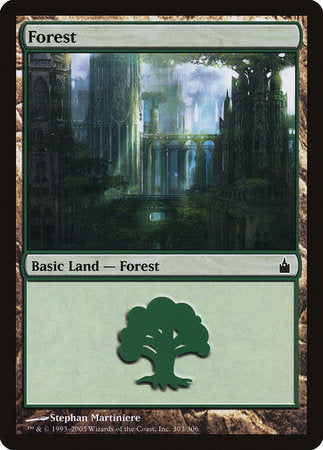 Forest (303) [Ravnica: City of Guilds] | Eastridge Sports Cards & Games