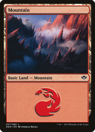 Mountain (37) [Duel Decks: Speed vs. Cunning] | Eastridge Sports Cards & Games
