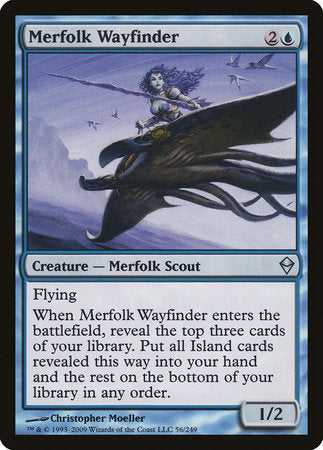 Merfolk Wayfinder [Zendikar] | Eastridge Sports Cards & Games