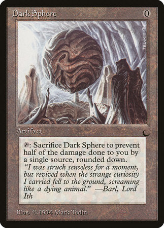 Dark Sphere [The Dark] | Eastridge Sports Cards & Games