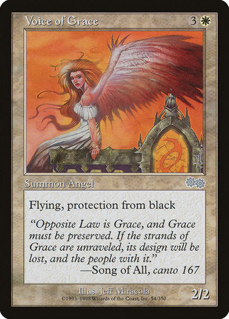 Voice of Grace [Urza's Saga] | Eastridge Sports Cards & Games