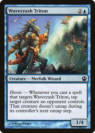 Wavecrash Triton [Theros] | Eastridge Sports Cards & Games