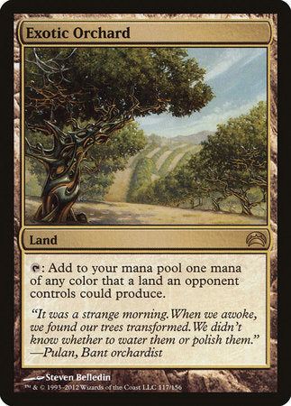 Exotic Orchard [Planechase 2012] | Eastridge Sports Cards & Games