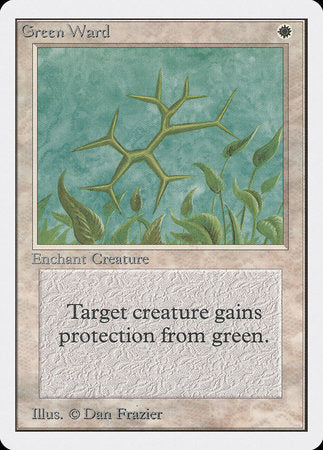 Green Ward [Unlimited Edition] | Eastridge Sports Cards & Games