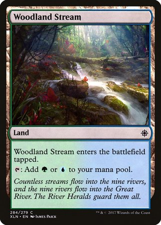 Woodland Stream [Ixalan] | Eastridge Sports Cards & Games