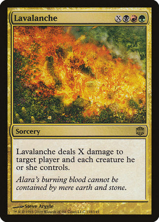 Lavalanche [Alara Reborn] | Eastridge Sports Cards & Games