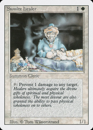 Samite Healer [Revised Edition] | Eastridge Sports Cards & Games