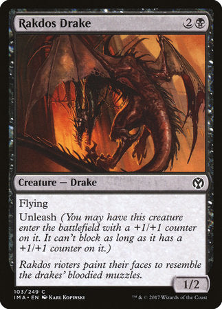 Rakdos Drake [Iconic Masters] | Eastridge Sports Cards & Games