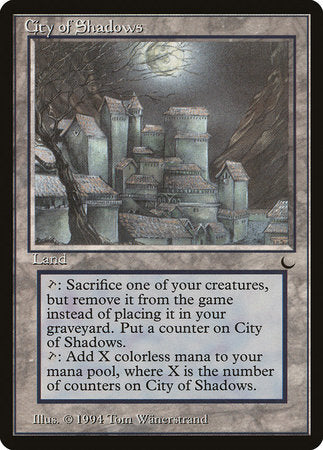 City of Shadows [The Dark] | Eastridge Sports Cards & Games