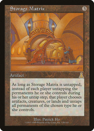 Storage Matrix [Urza's Destiny] | Eastridge Sports Cards & Games
