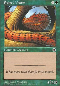 Spined Wurm [Portal] | Eastridge Sports Cards & Games