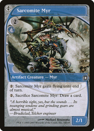 Sarcomite Myr [Future Sight] | Eastridge Sports Cards & Games