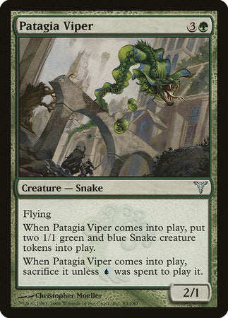 Patagia Viper [Dissension] | Eastridge Sports Cards & Games
