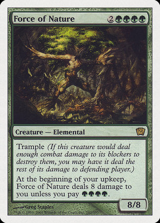 Force of Nature [Ninth Edition] | Eastridge Sports Cards & Games