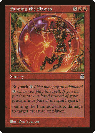 Fanning the Flames [Stronghold] | Eastridge Sports Cards & Games