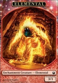 Elemental Token [Born of the Gods Tokens] | Eastridge Sports Cards & Games