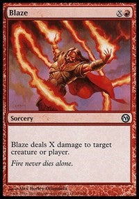 Blaze [Duels of the Planeswalkers] | Eastridge Sports Cards & Games