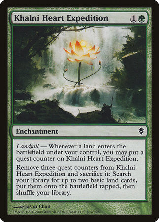 Khalni Heart Expedition [Zendikar] | Eastridge Sports Cards & Games