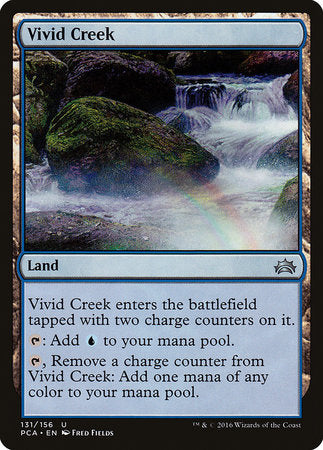 Vivid Creek [Planechase Anthology] | Eastridge Sports Cards & Games