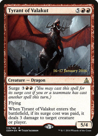 Tyrant of Valakut [Oath of the Gatewatch Promos] | Eastridge Sports Cards & Games