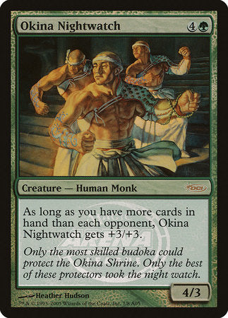 Okina Nightwatch [Arena League 2005] | Eastridge Sports Cards & Games