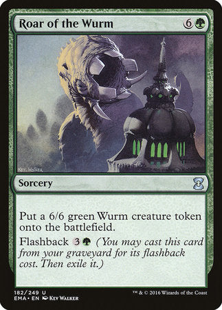 Roar of the Wurm [Eternal Masters] | Eastridge Sports Cards & Games