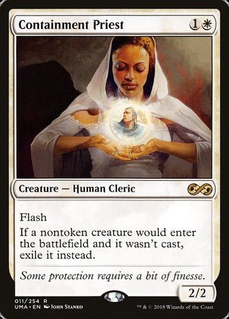 Containment Priest [Ultimate Masters] | Eastridge Sports Cards & Games