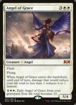 Angel of Grace [Ravnica Allegiance] | Eastridge Sports Cards & Games