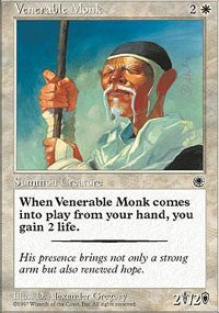 Venerable Monk [Portal] | Eastridge Sports Cards & Games