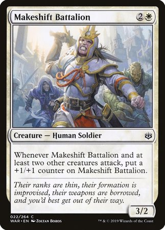 Makeshift Battalion [War of the Spark] | Eastridge Sports Cards & Games