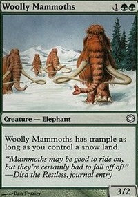 Woolly Mammoths [Coldsnap Theme Decks] | Eastridge Sports Cards & Games