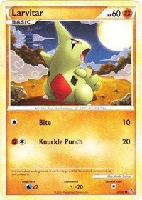 Larvitar [Unleashed] | Eastridge Sports Cards & Games